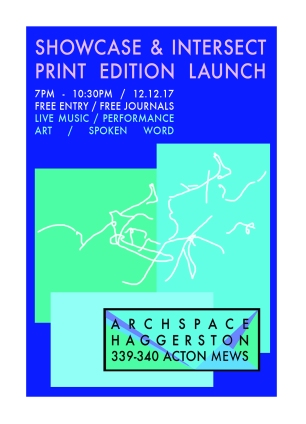 front of intersect flyer